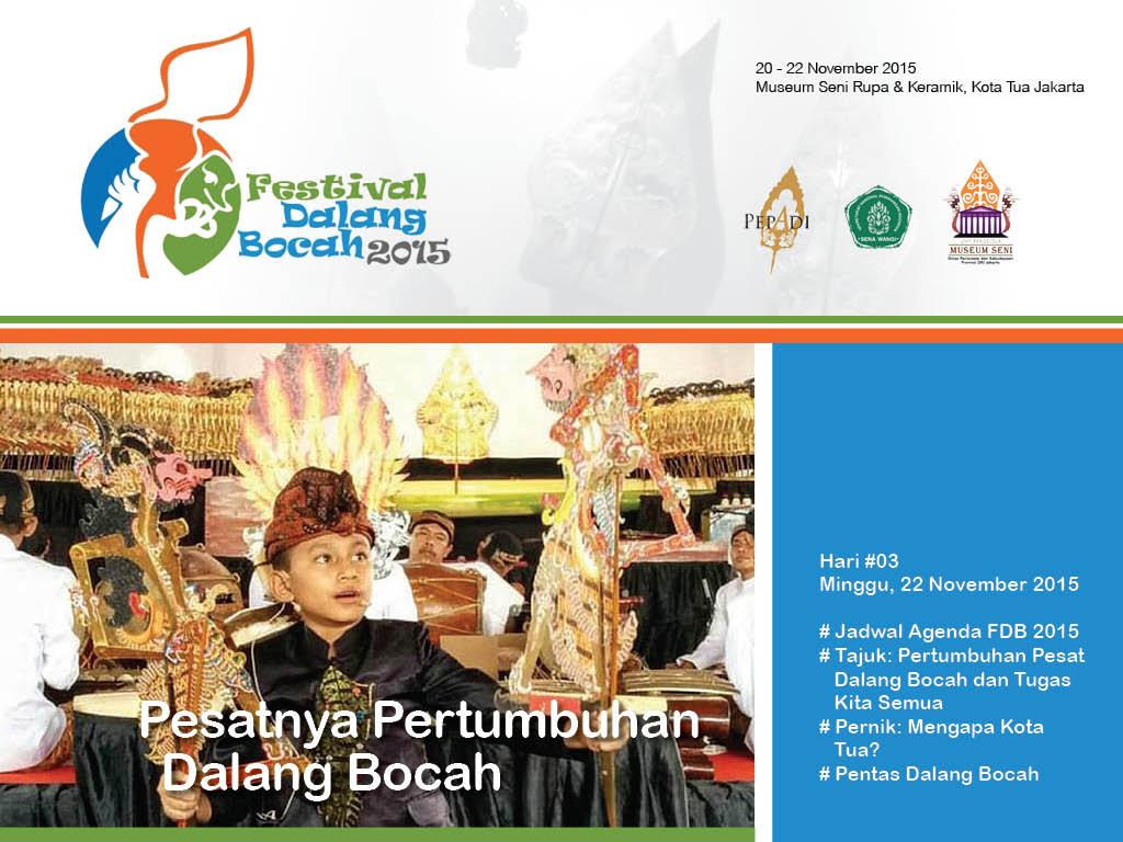 Majalah Digital Media Event FDB 2015 Hari ke-3, 22 November 2015