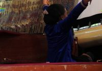 Kanastren Nareswara Darmanasti  (12 tahun) #DalangBocah Surakarta – lakon Srikandi Mustakaweni – Wayang Kulit Surakarta