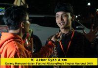 Wawancara dengan M. Akbar Syah Alam, Dalang Mumpuni dalam Festival #DalangMuda Tingkat Nasional 2018