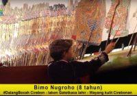 Bimo Nugroho, Dalang Bocah asal Cirebon: Si Mungil Bertekad Besar