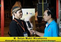 M. Setyo Mukti, Dalang Muda asal Lampung: Tak Punya Darah Dalang, Kegigihan Menjadi Kunci