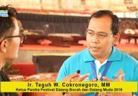Teguh Cokro (Ketua III PEPADI Pusat, Bidang Hubungan Antar Lembaga): Hubungan Baik Berperan Vital