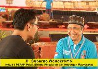 Suparno Wonokromo (Ketua I PEPADI Pusat, Bidang Pergelaran dan Humas): Komunikasi Pusat dan Daerah Adalah Kunci