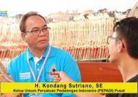 H. Kondang Sutrisna (Ketua Umum PEPADI Pusat): Dukungan Pemerintah Amat Berarti