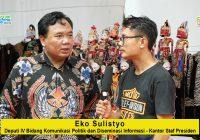 Eko Sulistyo (Deputi IV Bidang Komunikasi Politik dan DIseminasi Informasi Kantor Staf Presiden): Wayang Harus Mampu Melebur Dalam Era Digital