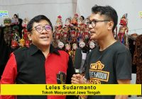 Leles Sudarmanto (Tokoh Masyarakat Jawa Tengah): Wayang Butuh Dukungan