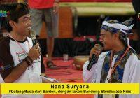 Nana Suryana #DalangMuda Banten membawakan lakon Bandung Bandawasa Nitis