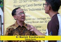 Ki Manteb Soedharsono (Sesepuh Pedalangan Indonesia): Wayang Tidak Akan Habis