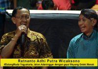 Ratnanto Adhi Putra Wicaksono, #DalangMuda Yogyakarta, dengan lakon Adaninggar