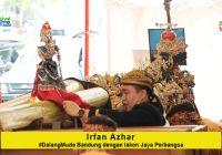 Irfan Azhar #DalangMuda dari Bandung dengan lakon Jaya Perbangsa