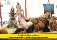 Syahrul Ramadhan #DalangMuda dari Bandung dengan lakon Somantri Ngengger