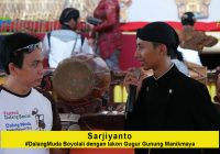 Sarjiyanto, Dalang Muda Boyolali: Piawai Membawakan Manikmaya