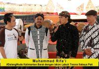 Muhammad Rifa'i #DalangMuda dari Kalimantan Barat dengan lakon Labuh Tresna Sabaya Pati