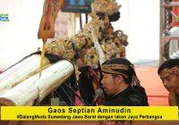 Gaos Septian Aminudin #DalangMuda dari Sumedang dengan lakon Jaya Perbangsa