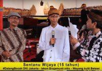 Sentanu Wijaya, Dalang Bocah asal Jakarta: Menjadi Dalang Adalah Cita-cita Dan Kebanggaan
