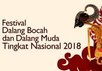 Video teaser acara Festival Dalang Bocah dan Dalang Muda 2018