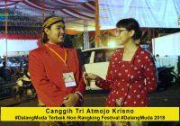 Wawancara dengan Canggih Tri Atmojo Krisno #DalangMuda Terbaik Non Rangking 2018 Festival #DalangMuda Tingkat Nasional 2018