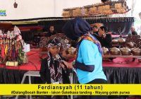Ferdiansyah, Dalang Bocah asal Banten dengan lakok Gatotkaca Tanding