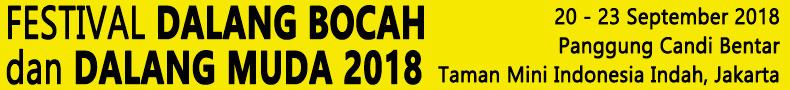 Festival Dalang Bocah dan Dalang Muda 2018