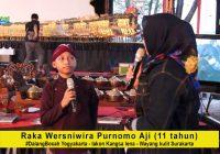 Raka Wesniwira Purnomo Aji, Dalang Bocah asal Yogyakarta dengan lakon Kangsa Lena