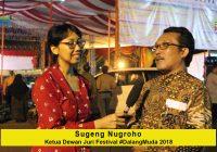 Wawancara dengan Sugeng Nugroho, Ketua Dewan Juri Festival #DalangMuda Tingkat Nasional 2018